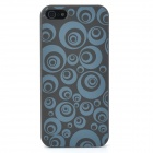 Bubble-Ring Pattern Protective ABS Hard Case für iPhone 5 - Black + Grau