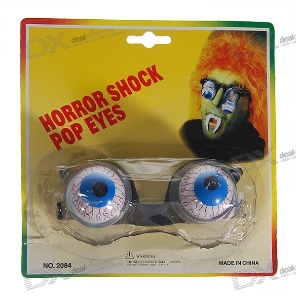 Halloween Scary Eyeball-Dropping Glasses