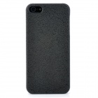 Raindrops Protective ABS Hard Back Case for Iphone 5 - Black