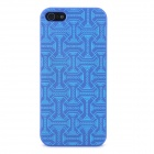 M Diagram Muster schützende ABS Hard Case für iPhone 5 - Blue