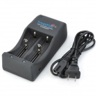 TrustFire TR-006 Dual-Slot 25500 / 26650 / 26700 / 18650 / 16340 Battery Charger (AC 110~240V)