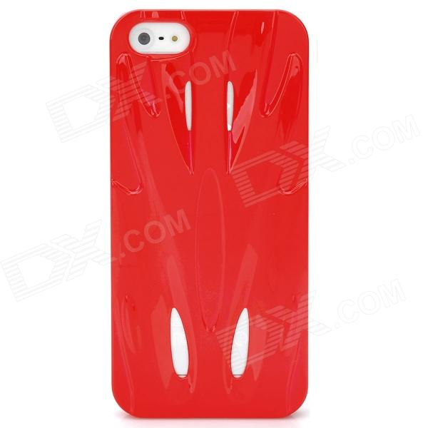 Fashion Sports Car Style Protective PC Back Case for Iphone 5 - Red