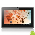 "YEAHPAD PILLBOX7 7"" Capacitive Screen Android 4.0 Tablet PC w/ TF / Wi-Fi / Camera - Black"