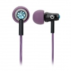 XKDUN CK-700 Stylish In-Ear Earphone - Purple + Black (3.5MM Plug)