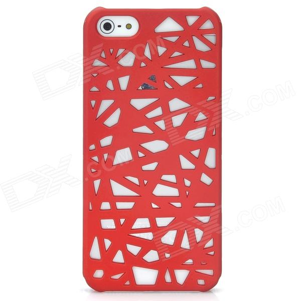 все цены на Bird's Nest Style Protective Plastic Back Case for Iphone 5 - Dark Red онлайн