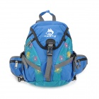 Hasky CY-2012 3-in-1 Backpack Satchel Waist Bag - Royalblue + Green (15 L)