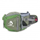 Hasky CY-2008 Camping Hiking Waist Bag - Grey + Green (6 L)