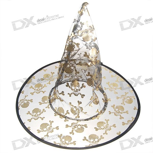 Halloween Witch's Pointy Hat (Golden)