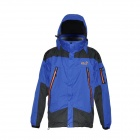 Hasky CY-108 Man's Waterproof Outdoor Jacket + Fleeces Warm Liner Suit - Blue (Size XXL)