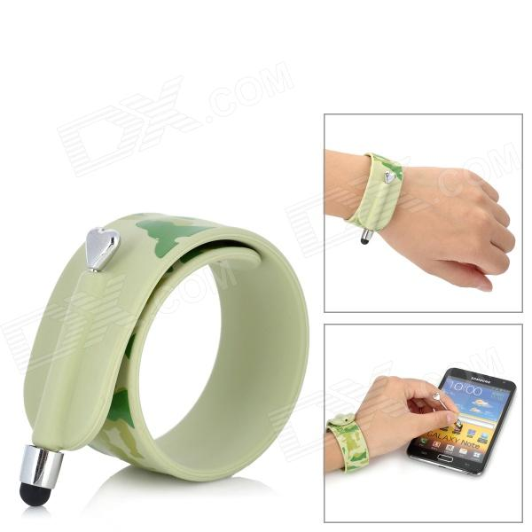 KTWO Wristband Capacitive Screen Stylus - Army Green