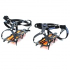 SUOERGE Snow Ice Climbing/Mountaineering Shoes Crampons - Black (Pair) 