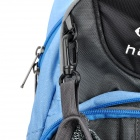 Hasky CY-2013 Cycling / Rock Climbing Daypack Backpack Bag - Light Blue + Grey (18L)