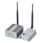 1.2GHz 3W Wireless Transmitter Receiver Kit w / Antennen - Grey