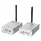 5.8GHz 1.5W Wireless Signal Receiver and Transmitter Kit - Silver