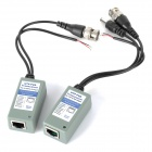 Twisted Pair Passive Video Power Data Transceivers Kit - Cement Grey