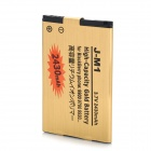 Replacement 3.7V 2430mAh Battery Pack for BlackBerry 9900 / 9930 / 9790 - Golden