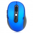 2.4GHz Wireless Optical Mouse w / USB-Receiver - Blue + Black