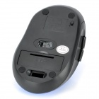 2.4GHz Wireless Optical Mouse w/ USB Receiver - Blue + Black
