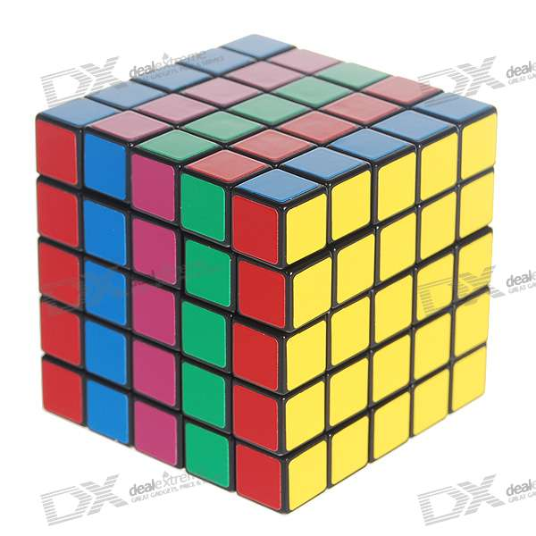 A5 5x5x5 Brain Teaser Magic IQ Cube dayan mf8 4x4x4 brain teaser magic iq cube
