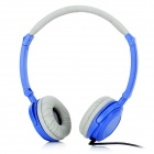 HX030 Fashion Stereo Headphone - Blue + Grey