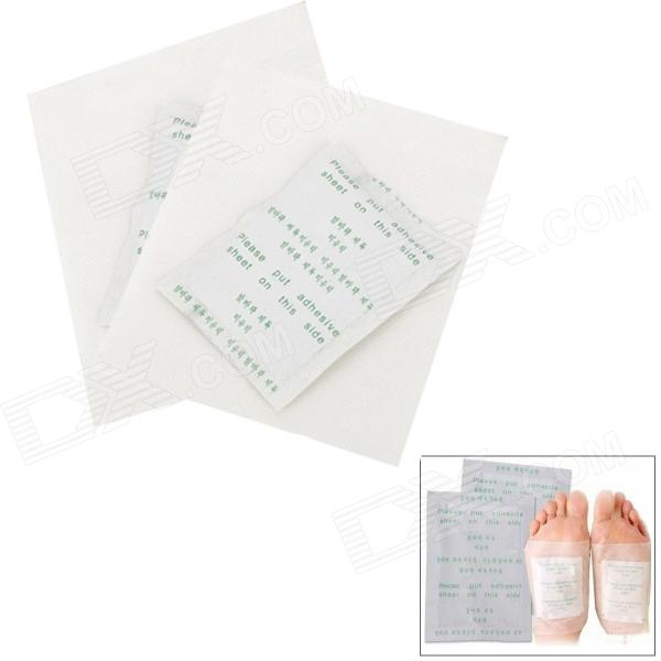 Healthy Detox Foot Pads Patches - White (10 PCS)