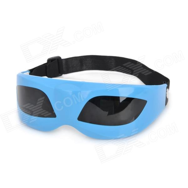 A07-0800-J822 Sight Protector Eye Vibration Massager - Blue + Black + White (2 x AAA)