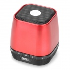 DOSS DS-1121 Portable Bluetooth v2.1 + EDR Speaker for Iphone / Ipad / Ipod - Red + Black