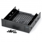 "Akasa AK-HDA-05 2.5"" / 3.5"" SSD / HDD to 5.25"" Drive Rack Bracket Adapter - Black"