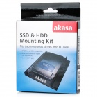 "Akasa AK-MX010V2 2.5"" SSD HDD to 3.5"" Drive Rack Bracket Mounting Kit"