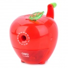20096 Apple Style ABS + Steel Pencil Sharpener Machine - Red