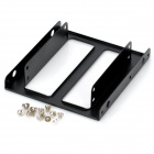 "Akasa AK-HDA-03 2.5"" SSD / HDD to 3.5"" Drive Rack Bracket Adapter - Black"