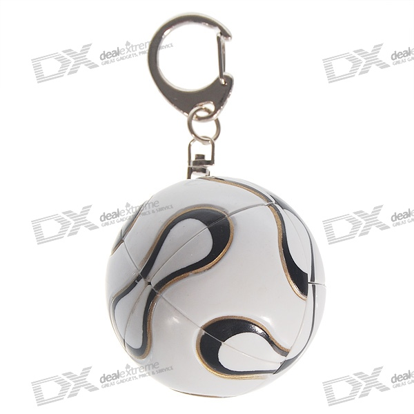 Sphere Style Brain Teaser Magic IQ Ball Keychain (2-Pack) dayan mf8 4x4x4 brain teaser magic iq cube