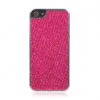 Shining Protective PC Hard Back Case for Iphone 5 - Deep Pink