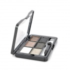 Cosmetic Makeup 6-Color Pearl Powder Eye Shadow Palette - Multi-Color
