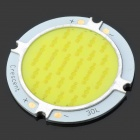 15W 700LM 6600K White Light COB LED-Modul - Gelb + Silber (33 ~ 35V)