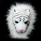 Stylish Tiger Mask for Halloween / Cosplay - White + Black