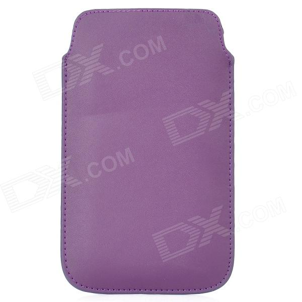 Stylish Protective PU Leather Pouch Case for Samsung N7100 Galaxy Note2 - Deep Purple