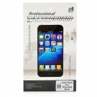 Matte PET Back Screen Protector w/ Cleaning Cloth for Iphone 5 - Transparent
