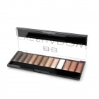 Cosmetic Makeup 12-Color Pearl Powder Eye Shadow Palette - Multi-Color