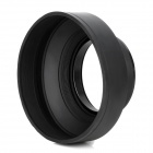 58mm Foldable ABS Lens Hood for Nikon / Canon / Sony - Black