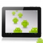 "E88-C 9.7 ""Capacitive Screen Android 4.0 Tablet PC w / TF / Wi-Fi / HDMI / Kamera / G-Sensor - Silber"