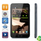 """9220 Android 2.3 GSM Bar Phone w/ 5.2"""" Capacitive Screen, Quad-Band, Wi-Fi and Dual-SIM - Black"""
