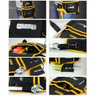 EXPLOIT Multi-Function Repairing Tool Storage Waist Bag - Black + Yellow