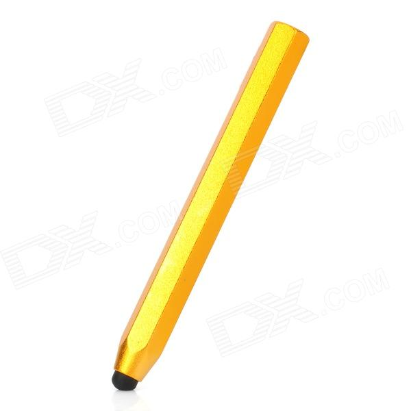 Stylish Aluminum Alloy Stylus Pen for Capacitive Touch Screen - Golden