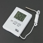 "1.7"" LCD Indoor and Outdoor Temperature Meter - White (1 x AAA)"