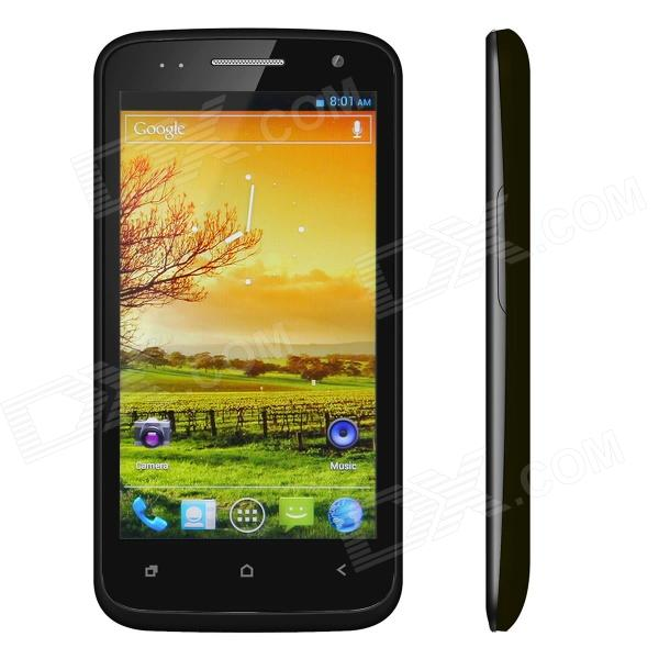 "BEDOVE X21 Android 4.0 Smartphone w/ 4.5"" Capacitive Screen, Wi-Fi, GPS and Dual-SIM - Black"