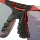 Northwolf 1105 UV400 Protection Polarized Sunglasses w/ Replacement Lenses for Cycling - Red + Black