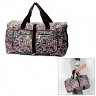 902 Foldable PVC Travelling Bag w/ Shoulder Strap - Multi-Color