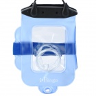Bingo WP01_06 Waterproof Protective PVC Camera Bag Case - Blue
