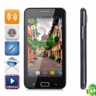 "B93M Android 4.0 WCDMA Smartphone w/ 4.5"" Capacitive Screen, Wi-Fi, GPS and Dual-SIM - Black"